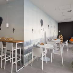 projekt wnętrza biura: styl , w kategorii Biurowce zaprojektowany przez Dmowska design