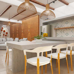 Kitchen units by TREVISO Studio Arquitetura e Interiores