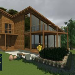 Casa Sustentável: Casas familiares  por Arq. Marcelo Lima