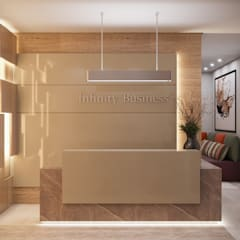 عيادات طبية تنفيذ Camila Pimenta | Arquitetura + Interiores