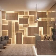 by Camila Pimenta | Arquitetura + Interiores Modern لکڑی Wood effect