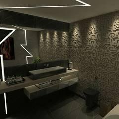 : Banheiros minimalistas por A7 Arquitetura | Design