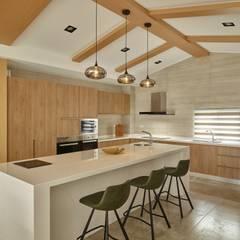 مطبخ تنفيذ 澤序空間設計有限公司, تبسيطي