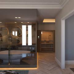 Vivienda Reina Victoria: Baños de estilo  de Meritxell Ribé - The Room Studio