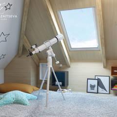 DESIGNE PROJEKT - BOHO STYL: styl , w kategorii Pokój dla dziecka zaprojektowany przez Design studio TZinterior group