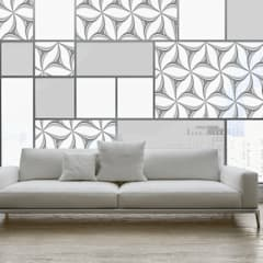 Tragaluces de estilo  por Shiny Glass Tiles