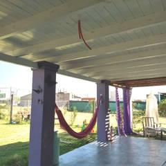 GALERIA: Jardines de invierno de estilo  por ECOS DE SOL (Ingeniería y Construcción)