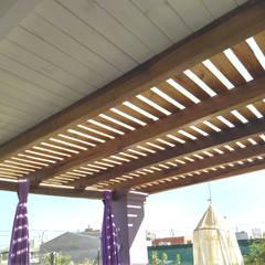 Jardines de invierno de estilo  por ECOS DE SOL (Ingeniería y Construcción)