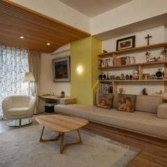 غرفة المعيشة تنفيذ 王采元工作室