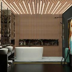 BANHO HOTEL BOUTIQUE: Hotéis  por AE ARQUINTERIORES