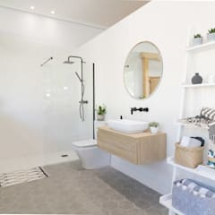 Baños de estilo  por Become a Home