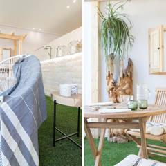 Terraza de AR Home: Terrazas de estilo  de Become a Home
