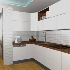 Cocinas: Módulos de cocina de estilo  de proyectoszeza