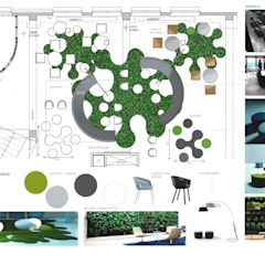 Gestaltung Loungebereich:  Geschäftsräume & Stores von Stil House Innenausbau GmbH