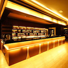 Asian style bars & clubs by Northmos Sdn Bhd Asian