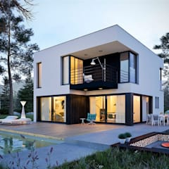 Single family home by Pracownia Projektowa ARCHIPELAG, Minimalist