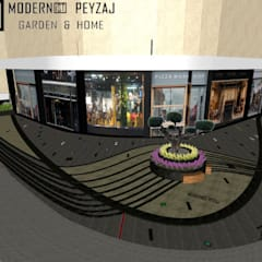 modernist peyzaj – Peyzaj Çalışmaları 2:  tarz Merdivenler