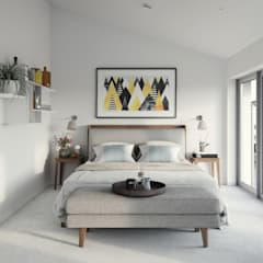 Hilgrove Mews:  Bedroom by Ruin Studio