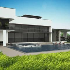 วิลล่า by A. C. Arquitectura y diseño