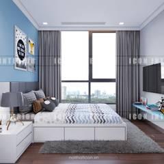 Thiết kế nội thất cao cấp dành cho căn hộ Vinhomes Central Park:  Phòng trẻ em by ICON INTERIOR,