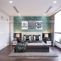 Thiết kế nội thất cao cấp dành cho căn hộ Vinhomes Central Park:  Phòng ngủ by ICON INTERIOR