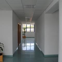 Edifício F e Edifício G - Colégio de Santa Clara: Escolas  por PE. Projectos de Engenharia, LDa