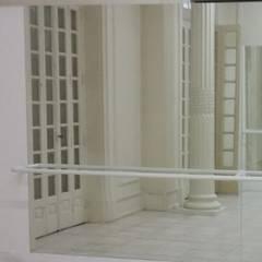 Sala de Ballet - Colégio PH: Fitness  por Belletti Projetos & Design