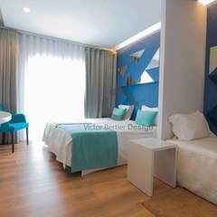 Hotel RM Fatima Hotéis modernos por Victor Bertier Design Moderno