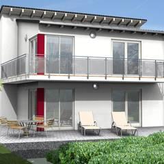 ÖKOHAUS DER WOCHE 13/2018.HAUS IDEE PULTDACH HAUS SI-AVANTGARDE 148:  Holzhaus von SI-Massivhaus
