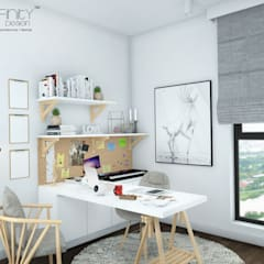 Study/office by inDfinity Design (M) SDN BHD