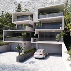 House Herbie (Fishhoek):  Terrace house by 7Storeys