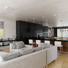 Living Area:  Living room by 7Storeys