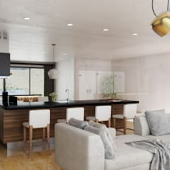 Living Area 3:  Living room by 7Storeys