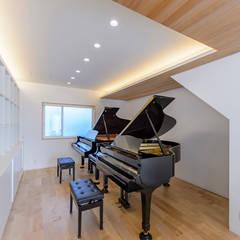 Study/office by 一級建築士事務所 ima建築設計室