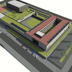 Escola de Ensino Profissional - Arrifes: Escolas  por PE. Projectos de Engenharia, LDa