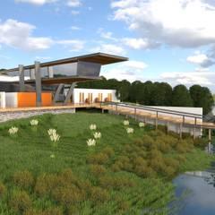 Vista Geral: Centros de exposições  por Arbisland Arquitectura & Design