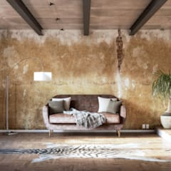 African Living:  Living room by 7Storeys