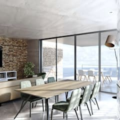 Living Space:  Living room by 7Storeys