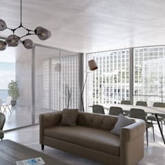 Living Space 2:  Living room by 7Storeys