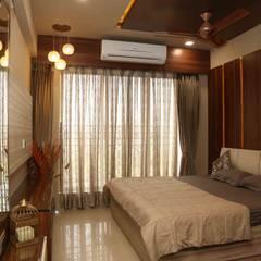 Mr. Tarun Bansal, Deonar: minimalistic Bedroom by Aesthetica