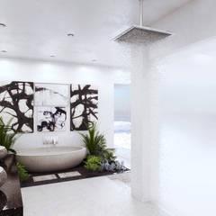 7Storeys Apartment Interior Designs:  Bathroom by 7Storeys, Minimalist
