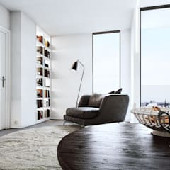 Living Space :  Living room by 7Storeys
