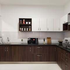 Kitchen units by HomeLane.com