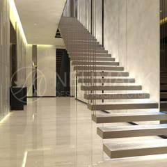 Escaleras de estilo  por NEUMARK, Minimalista