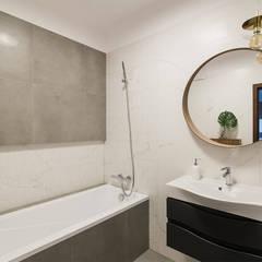 Apartament Kolonialny: styl , w kategorii Łazienka zaprojektowany przez KODO projekty i realizacje wnętrz