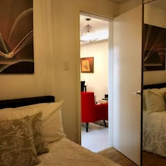 From Plain to Fab:  Bedroom by SNS Lush Designs and Home Decor Consultancy