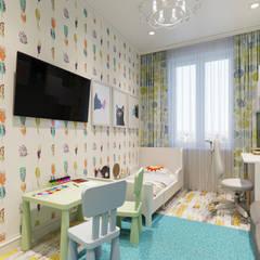 Kinderkamer door Гузалия Шамсутдинова | KUB STUDIO