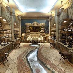"""Зал """"Атлантида"""": Офисы и магазины в . Автор – Архитектурно-производственная группа ИОЛЛА"""