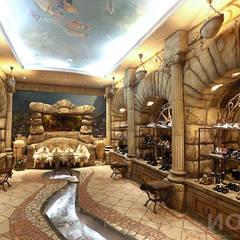 Oficinas y Tiendas de estilo  por Архитектурно-производственная группа ИОЛЛА