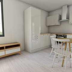 Kitchen units by ROX & IRE IBIZA SL, Mediterranean